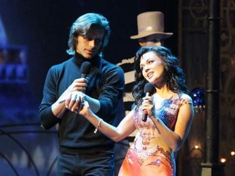 Две звезды большой новогодний концерт