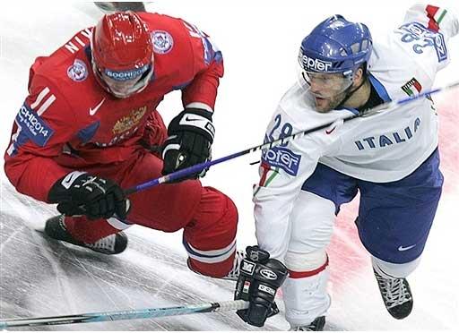 Хоккей россия италия из швеции кадр 1