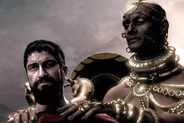 300 спартанцев кадр 1