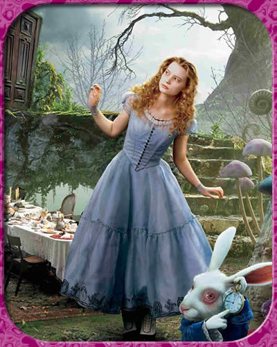 Алиса в стране чудес кадр 1