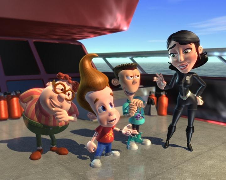 «Приключения Джимми Нейтрона, Мальчика-гения» — 2002 - 2006