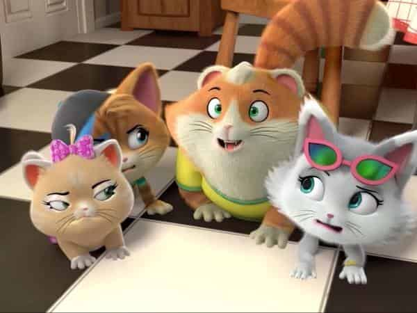 44-котёнка-Цап-Царапки