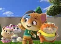 программа Nickelodeon: 44 котёнка Кошка собаке друг