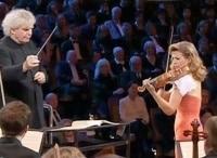 Анне Софи Муттер, сэр Саймон Рэттл и Берлинский филармонический оркестр Гала концерт в Берлине в 15:10 на канале