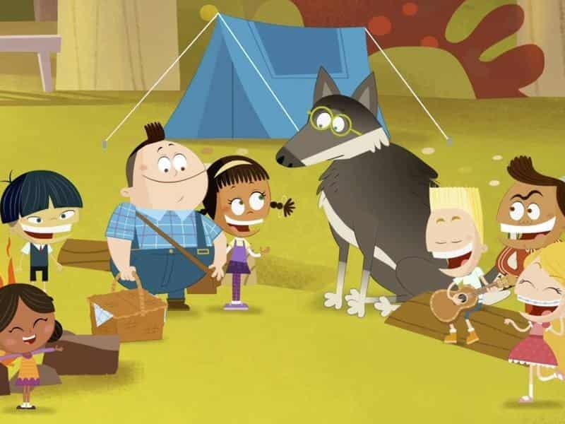 программа Nickelodeon: Апчхи Влюбленный уборщик