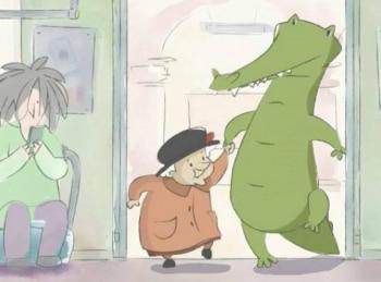 программа Карусель: Бабушка с крокодилом