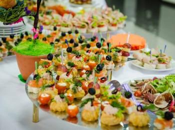 программа ЕДА: Банкет Фуршет Недорого Урок 24 Вегетарианские салаты