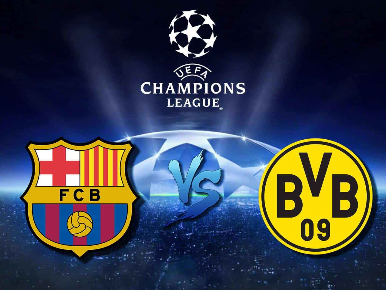 Барселона Боруссия Дормунд Лига Чемпионов Сезон 19/20 в 20:10 на канале