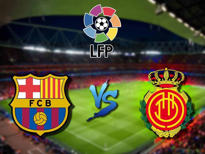 программа Футбол: Барселона Мальорка Ла Лига Сезон 19/20