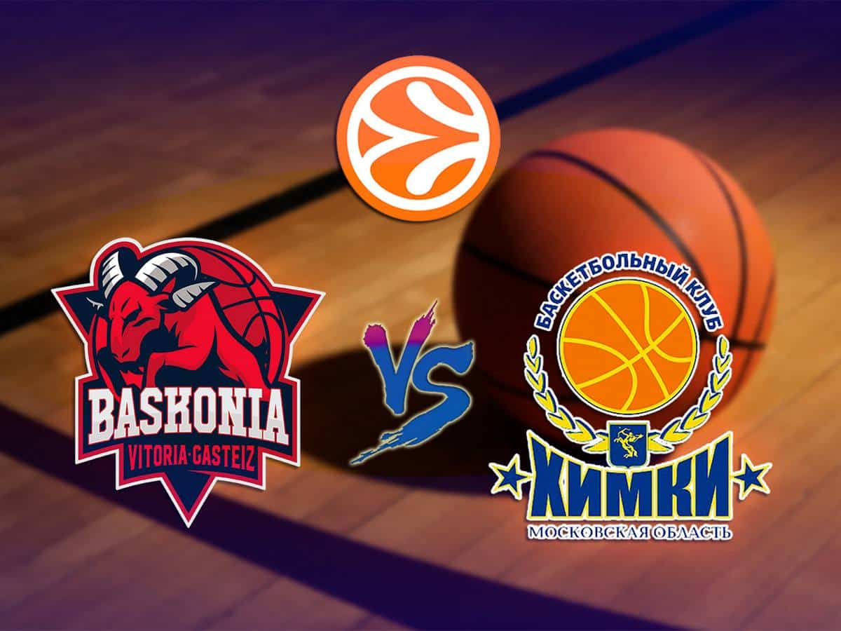 Баскетбол Евролига Мужчины Баскония Испания Химки Россия в 22:15 на канале
