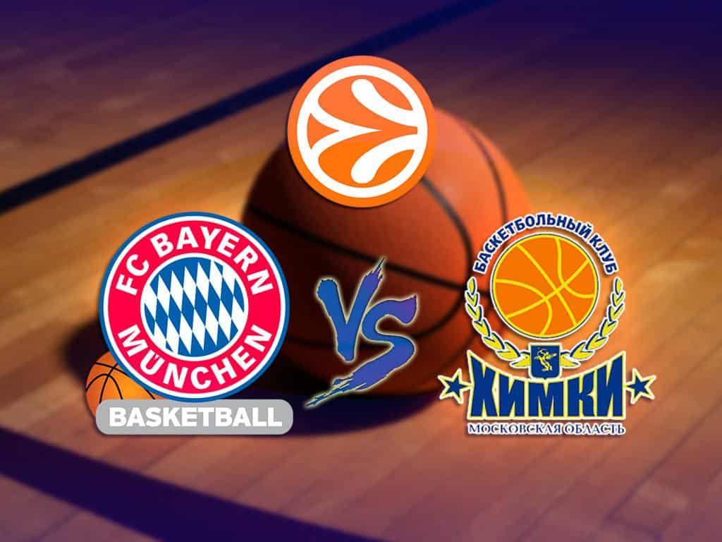 программа Матч Игра: Баскетбол Евролига Мужчины Бавария Германия Химки Россия
