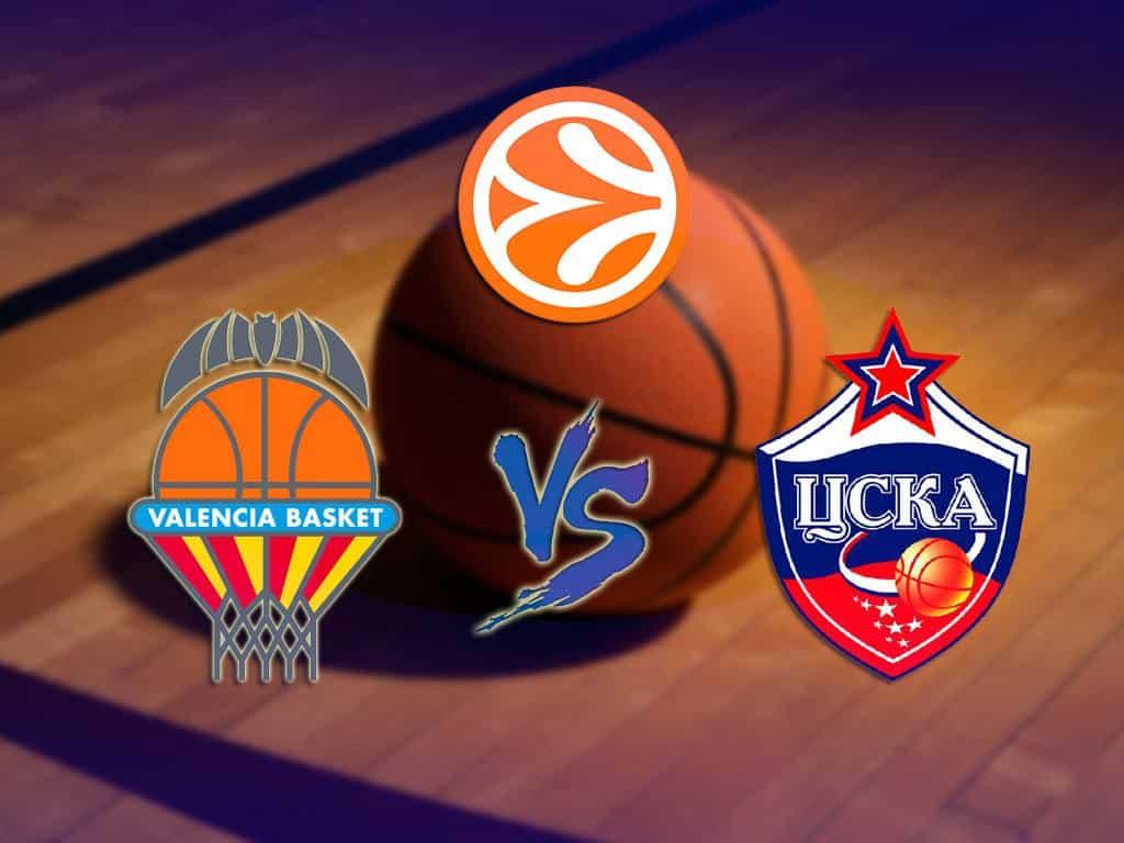 Баскетбол-Евролига-Мужчины-ЦСКА-Россия-Валенсия-Испания