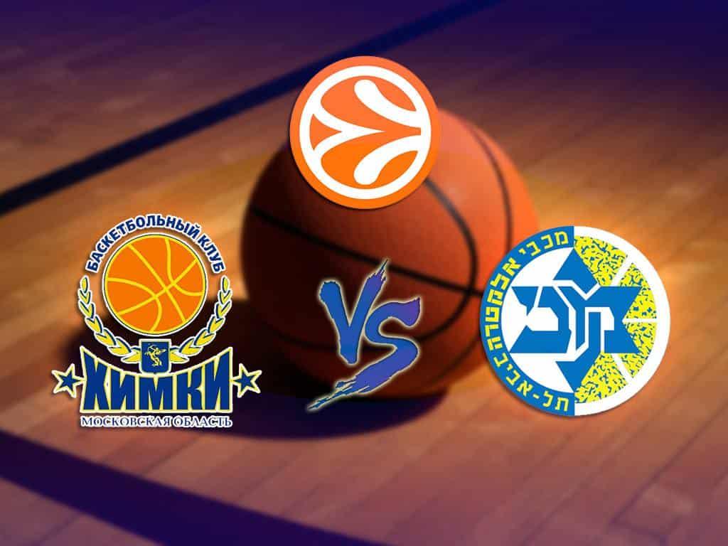программа Матч Игра: Баскетбол Евролига Мужчины Маккаби Израиль Химки Россия Прямая трансляция