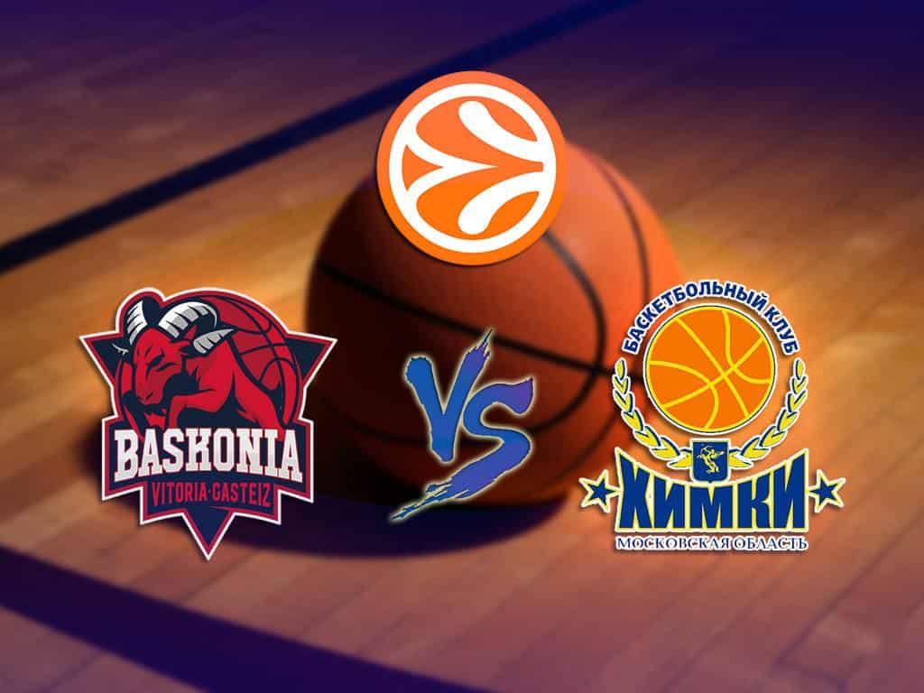 программа МАТЧ ТВ: Баскетбол Евролига Мужчины Химки Россия Баскония Испания