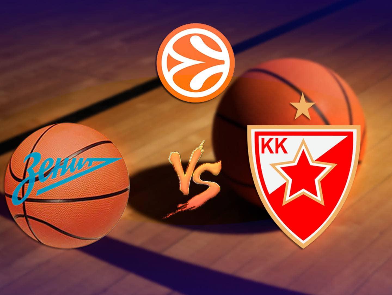программа МАТЧ ТВ: Баскетбол Евролига Мужчины Зенит Россия Црвена Звезда Сербия