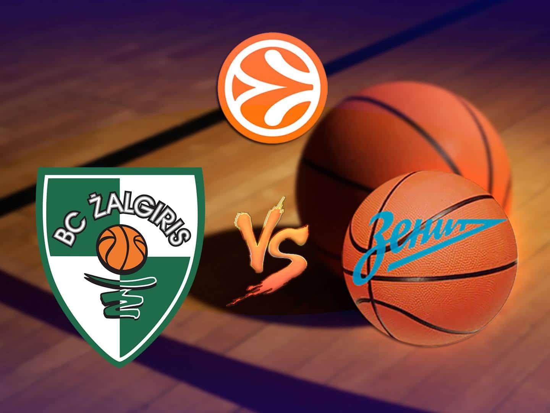 программа МАТЧ ТВ: Баскетбол Евролига Мужчины Жальгирис Зенит
