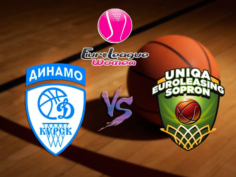 Баскетбол Евролига Женщины Динамо Курск, Россия Шопрон Баскет Венгрия в 22:20 на канале