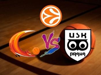 Баскетбол Евролига Женщины УГМК Россия УСК Прага Чехия в 15:15 на канале