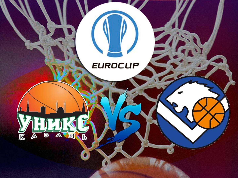 программа МАТЧ!: Баскетбол Кубок Европы УНИКС Россия – Брешиа Италия