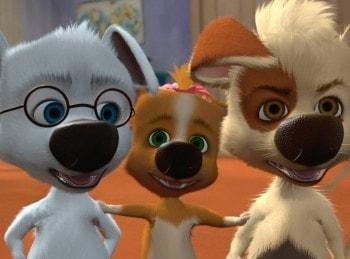 программа Карусель: Белка и Стрелка Озорная семейка Троянский пёс