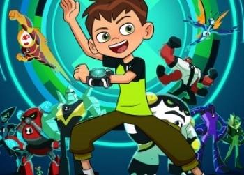 программа Cartoon Network: Бен 10 Старая добрая лазерная дуэль