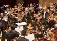 программа Россия Культура: Берлинский Филармонический Оркестр на фестивалях Европы Афины Концерт для скрипки Сибелиуса и Ларго Баха из Сонаты №3