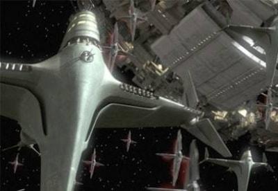 кадр из фильма Битва за планету Терра