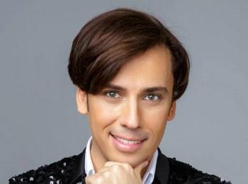 Большой новый концерт Максима Галкина в 17:00 на канале Первый