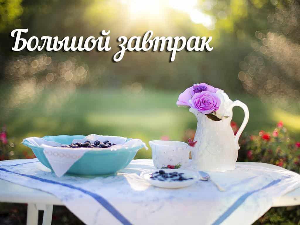 Большой завтрак 82 серия в 13:25 на канале ТНТ