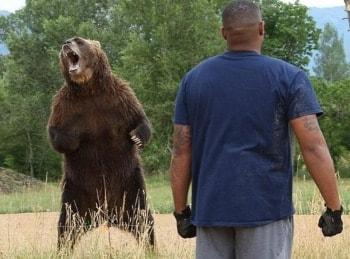 Человек против медведя 6 серия в 12:50 на канале
