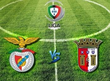 Чемпионат Португалии Бенфика — Брага в 17:35 на канале