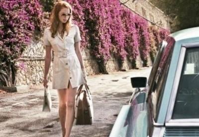 кадр из фильма Дама в очках и с ружьем в автомобиле
