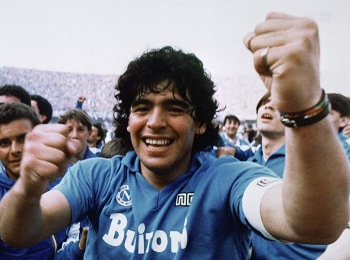 Диего Марадона в 09:00 на МАТЧ!