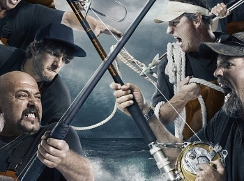 программа National Geographic: Дикий тунец: Север против Юга Рыбалка в шторм