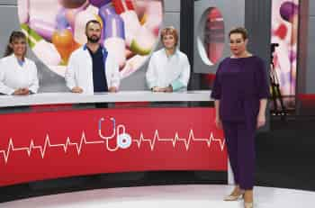 Доктора против интернета в 14:00 на Первый канал