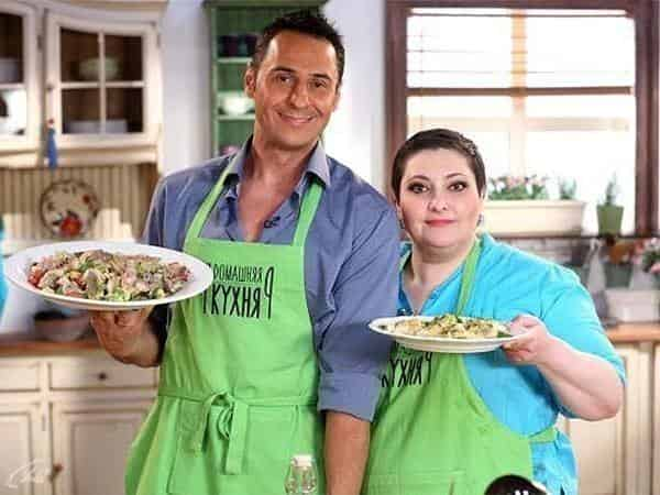 программа Домашний: Домашняя кухня 102 серия Николай Валуев