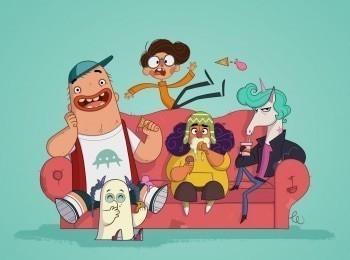 программа Nickelodeon: Дорг Ван Данго Дорг и Нор мыш