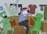 Джефф и инопланетяне 5 серия в 00:20 на канале