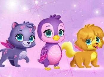 программа Nick Jr: Эбби Хэтчер Цветочная композиция принцессы Флю / Шоу талантов