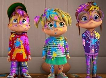 программа Nickelodeon: Элвинн!!! И бурундуки Машина времени / Розыгрыш