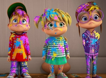 программа Nickelodeon: Элвинн!!! И бурундуки Родители и дети / Балет это сила
