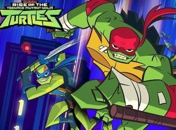 программа Nickelodeon: Эволюция Черепашек Ниндзя Герой против подземки / Угроза от мутантов