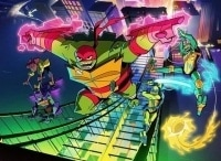 программа Nickelodeon: Эволюция Черепашек ниндзя Загадочная Заварушка