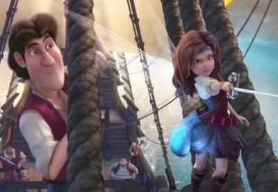кадр из фильма Феи: Загадка пиратского острова