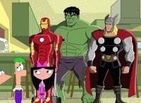 Финес и Ферб. Миссия Marvel