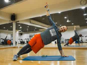программа Живи: Фитнес с резинками