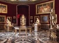 Флоренция и галерея Уффици в 13:25 на канале