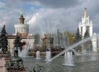 Фонтаны Москвы в 12:00 на канале