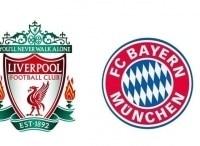 Футбол 1/8 финала Ливерпуль Англия Бавария Германия в 22:50 на канале
