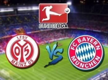 Футбол Чемпионат Германии Майнц — Бавария в 01:10 на канале